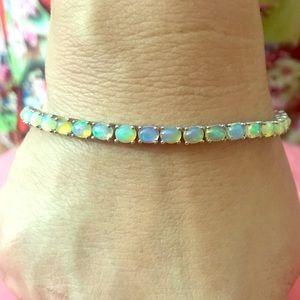 Jewelry - Ethiopian opal gemstone on sterling silver